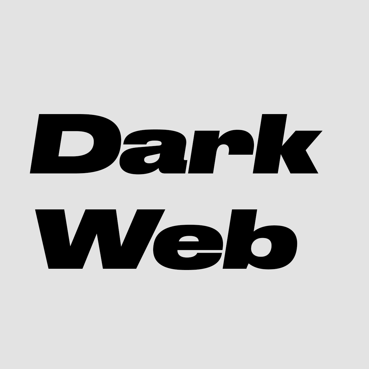 Logo of Dark web od A do Z