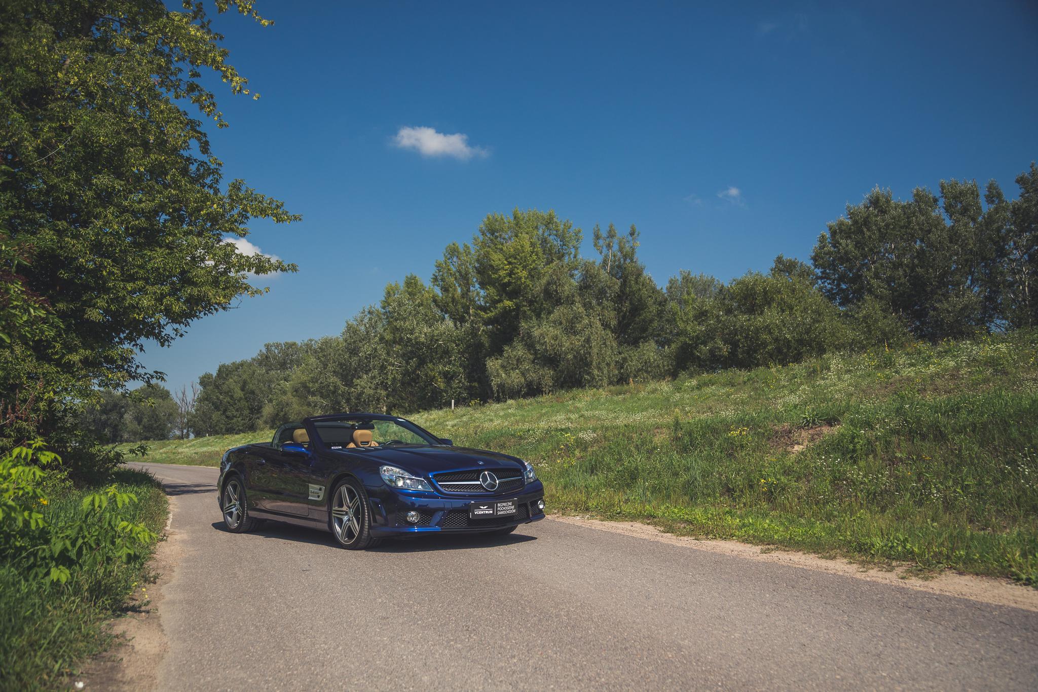 F5 Dzień z Mercedesem SL63 AMG – taka motoryzacja już nigdy nie wr³ci