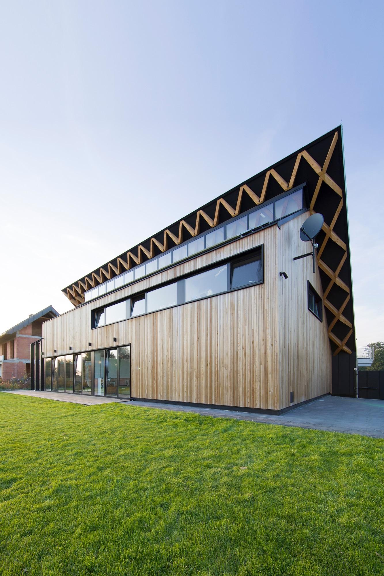 Najlepsze domy w Polsce Dom za dachem
