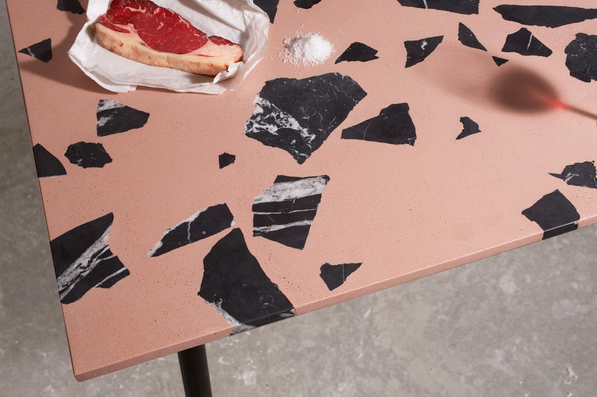 Lastryko wykonane z marmurowych odpadow
