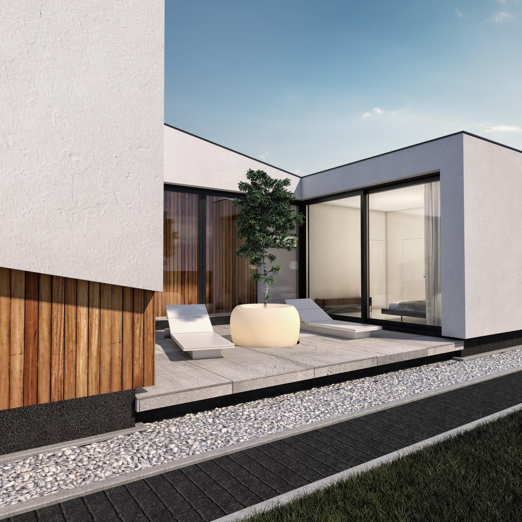 Najlepsze domy w Polsce Sky House w Zorach