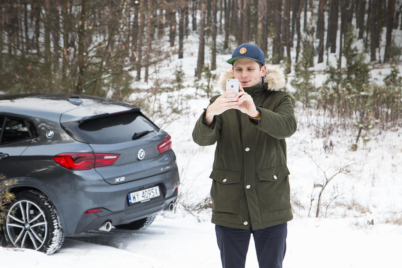 BMW X2 Krystian Kaleta fot. Sebastian Czarnecki