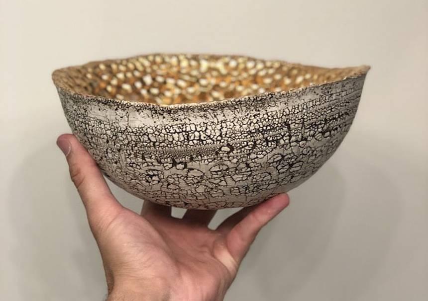 Ceramika, która rośnie jak koralowiec