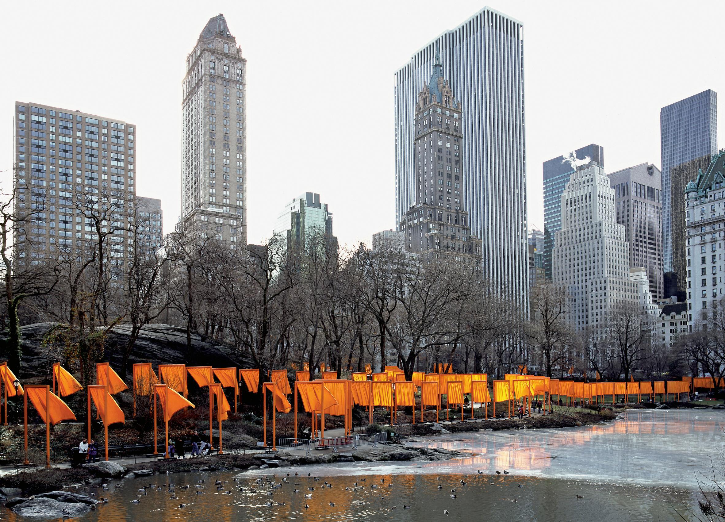 5 najdziwniejszych instalacji Christo i Jeanne-Claude
