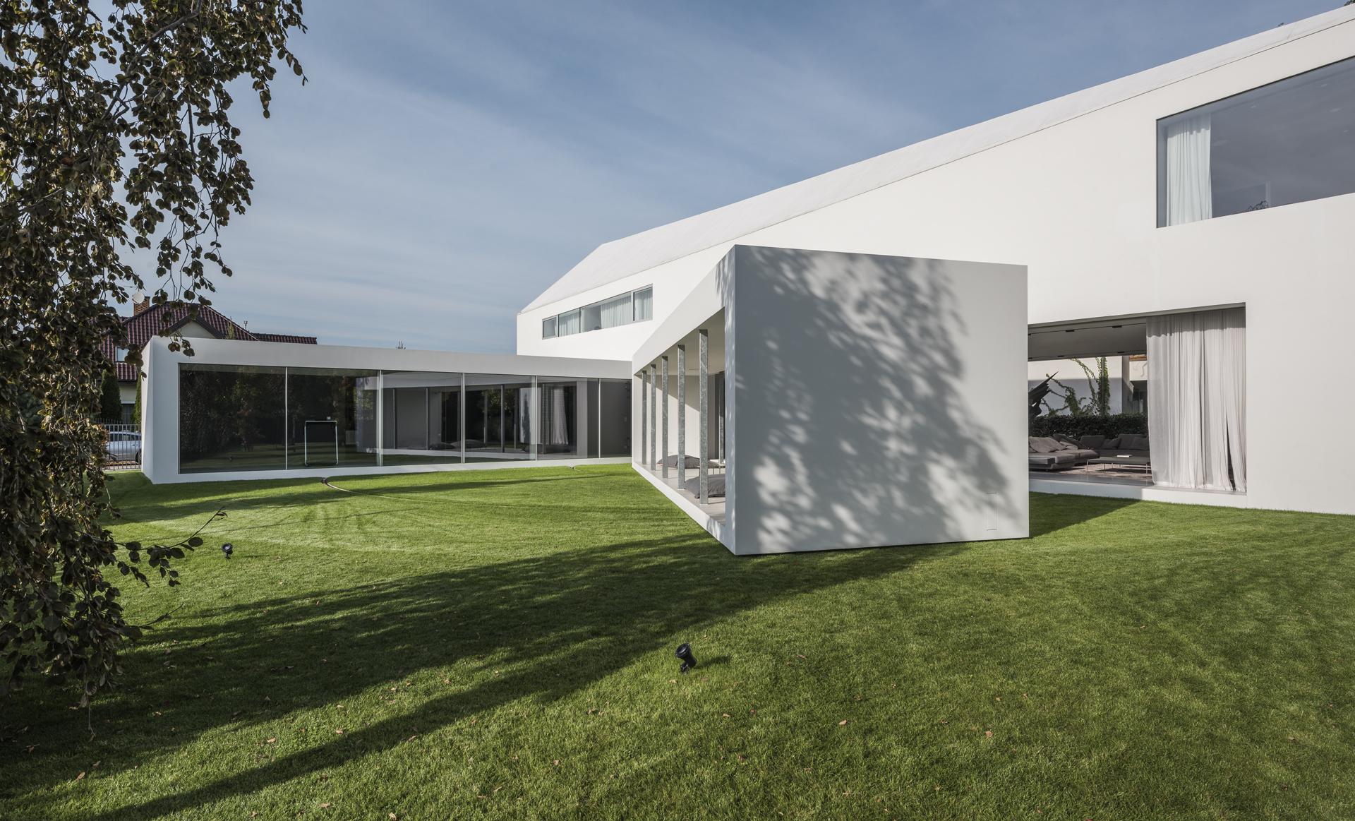 Najlepsze domy w Polsce: Dom Kwadrantowy