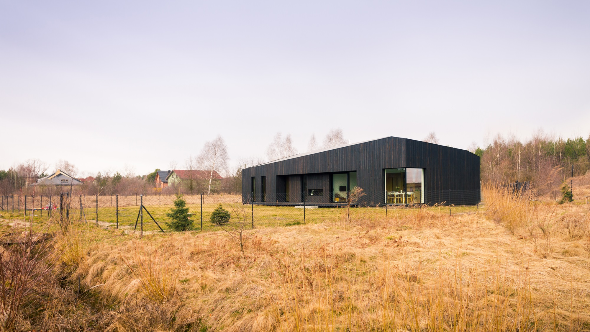 Najlepsze domy w Polsce: Dom na łące