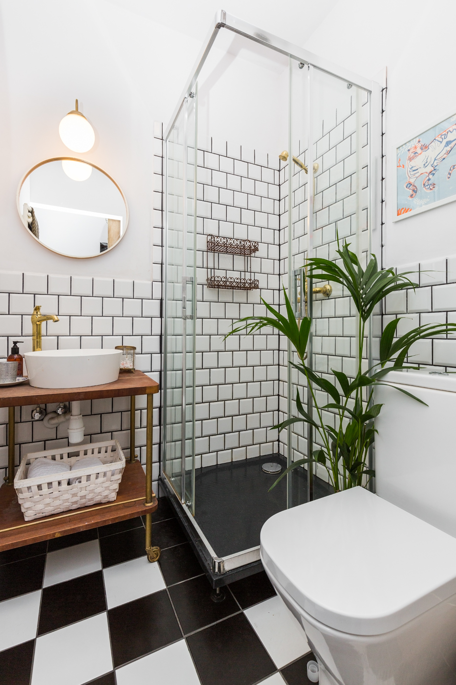 Małe przestrzenie: kawalerka o powierzchni 17 m² zaprojektowana dla artysty
