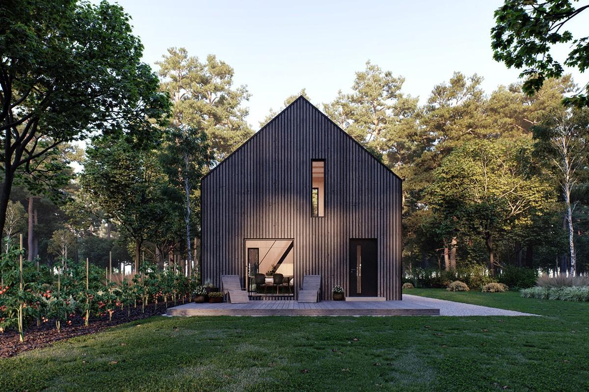 Małe przestrzenie: Modulo House – mały dom z wielkimi możliwościami