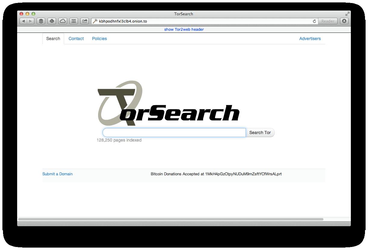 Wyszukiwarki dark web / dark net