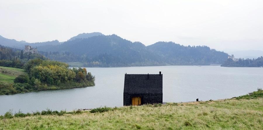 Najlepsze domy swiata Pasterska Chata nad Jeziorem Czorsztynskim