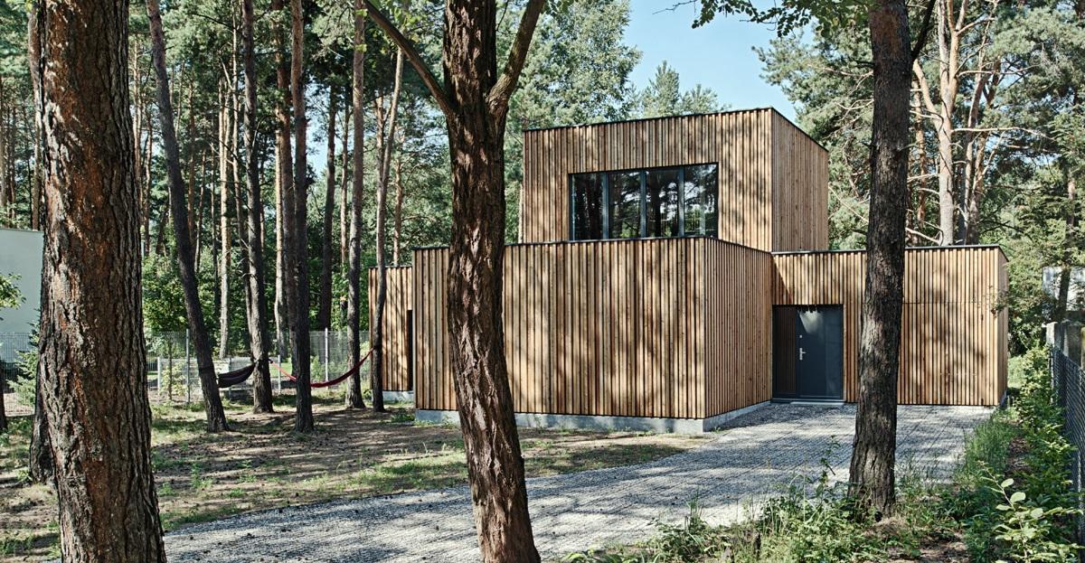 Najlepsze domy w Polsce Dom pod Warszawa