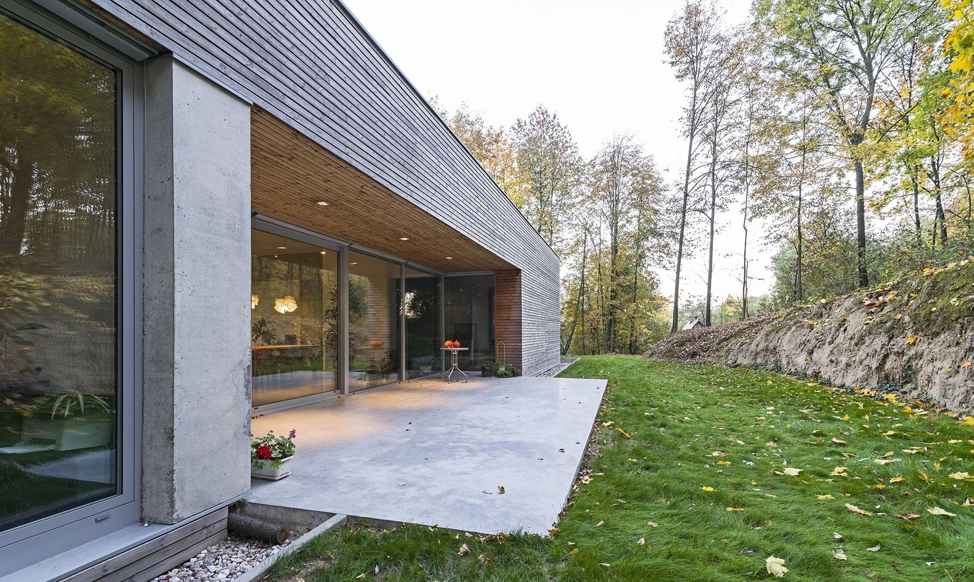 Najlepsze domy w Polsce Dom w Lesie