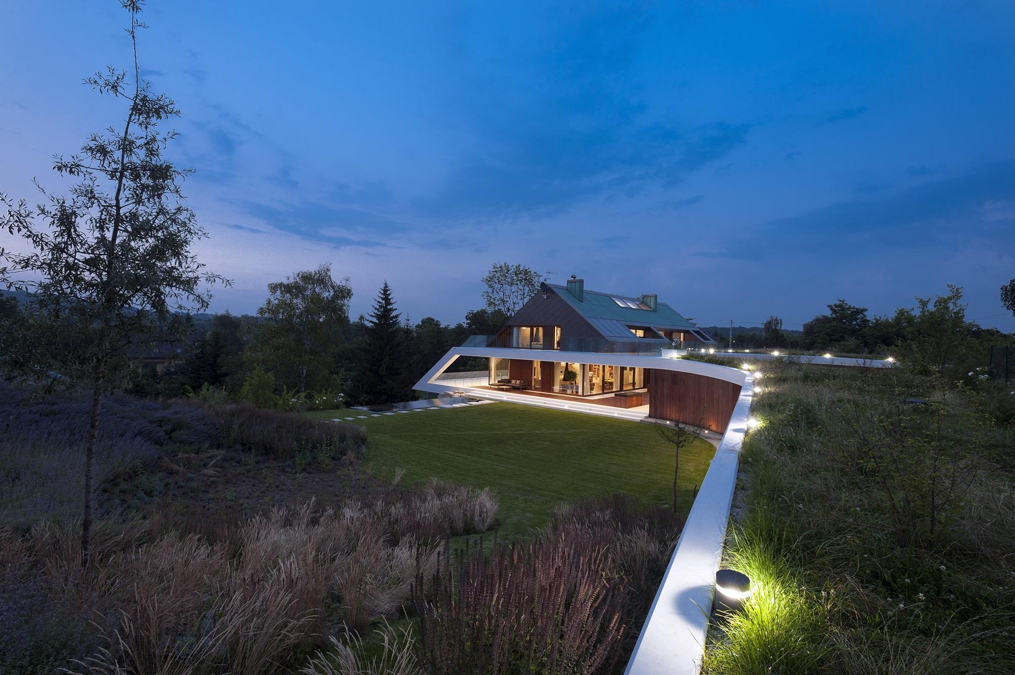 Najlepsze domy w Polsce Edge House – dom na urwisku