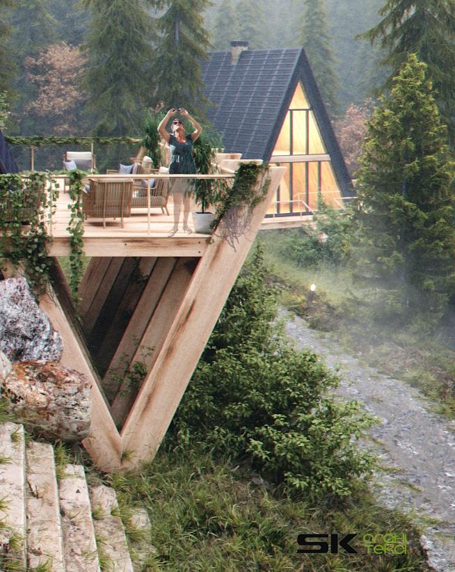 Kultowe domki Brda w nowej odslonie
