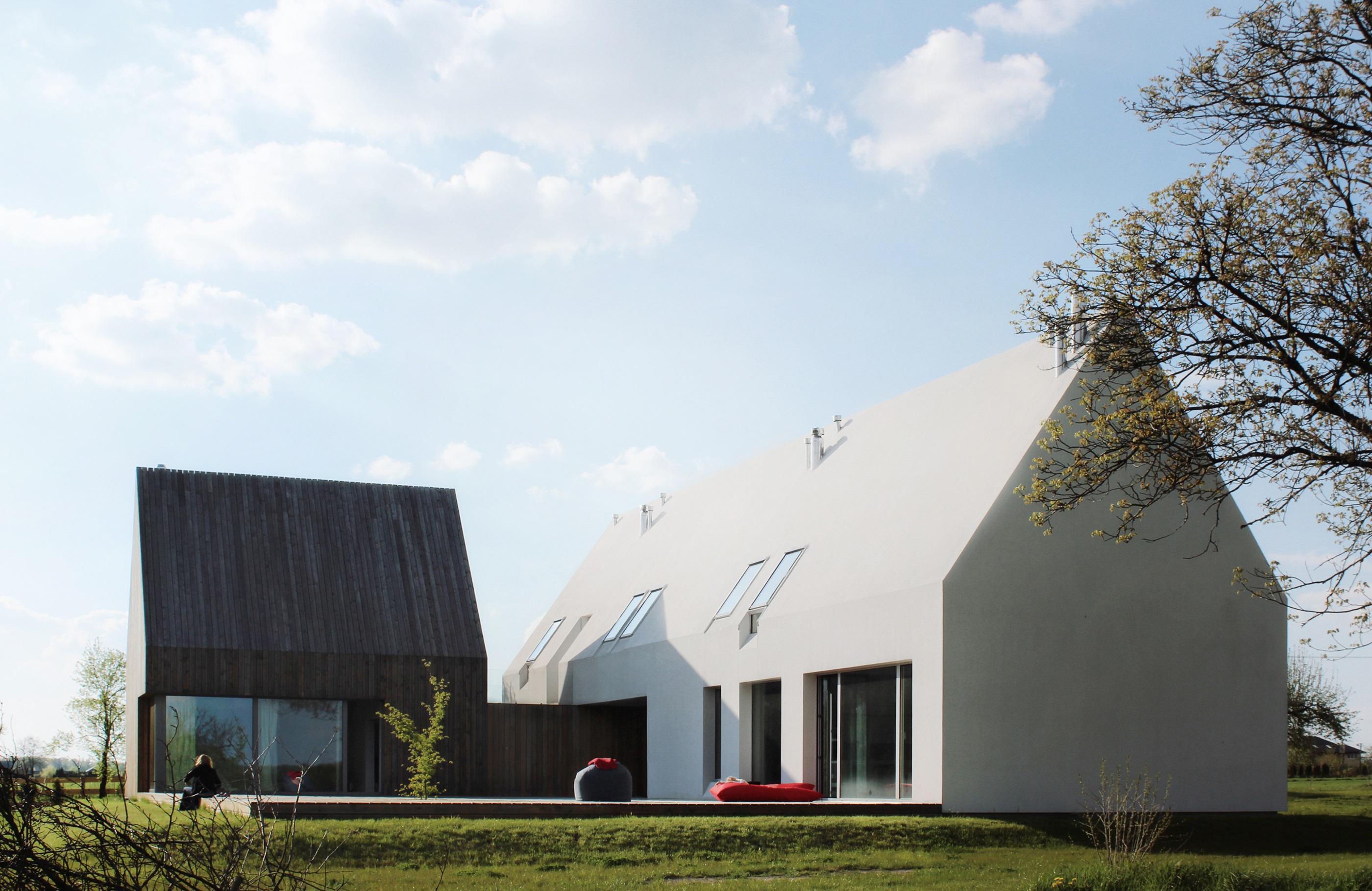 Najlepsze domy w Polsce: Dom jednorodzinny na Lubelszczyźnie