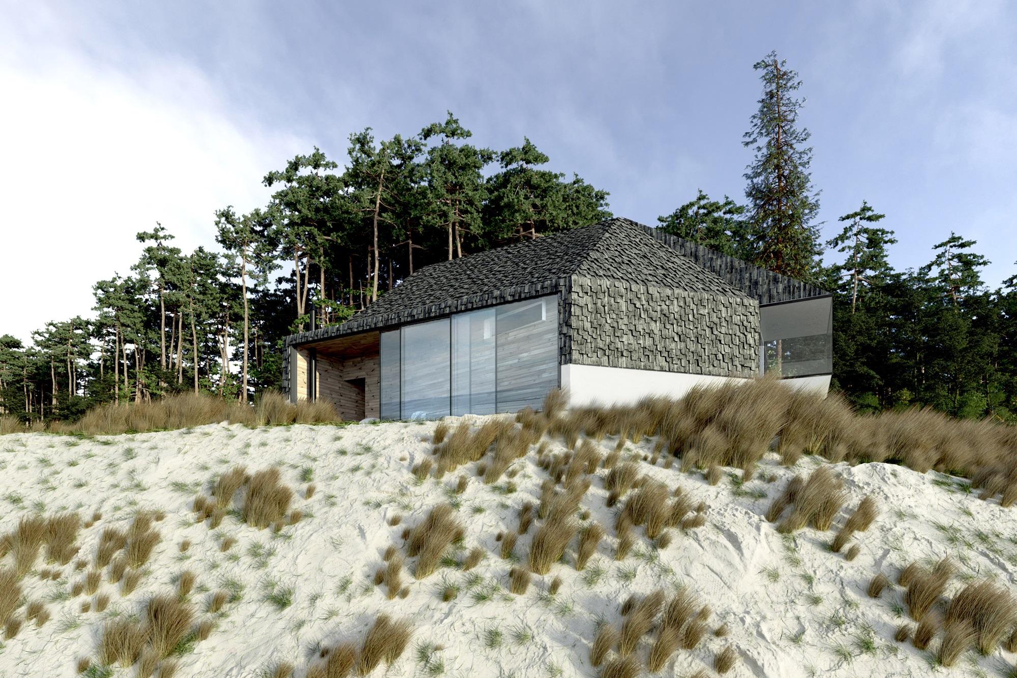 Najlepsze domy w Polsce: Dom przy plaży