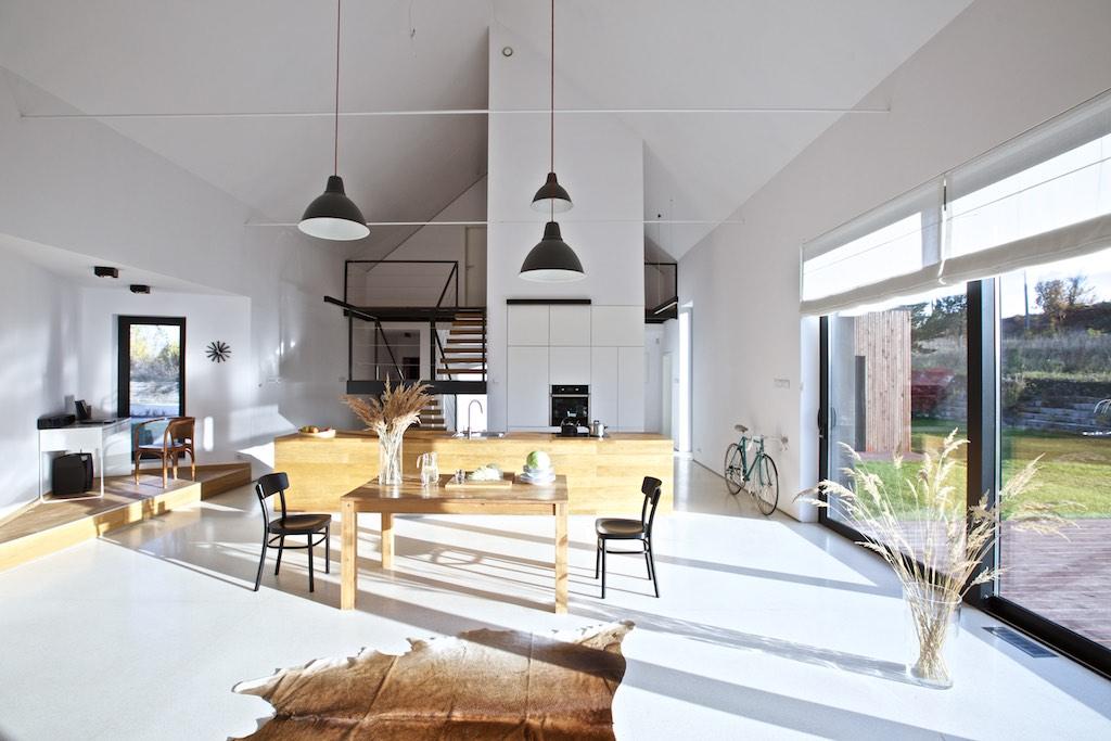 Najlepsze domy w Polsce Dom w krajobrazie