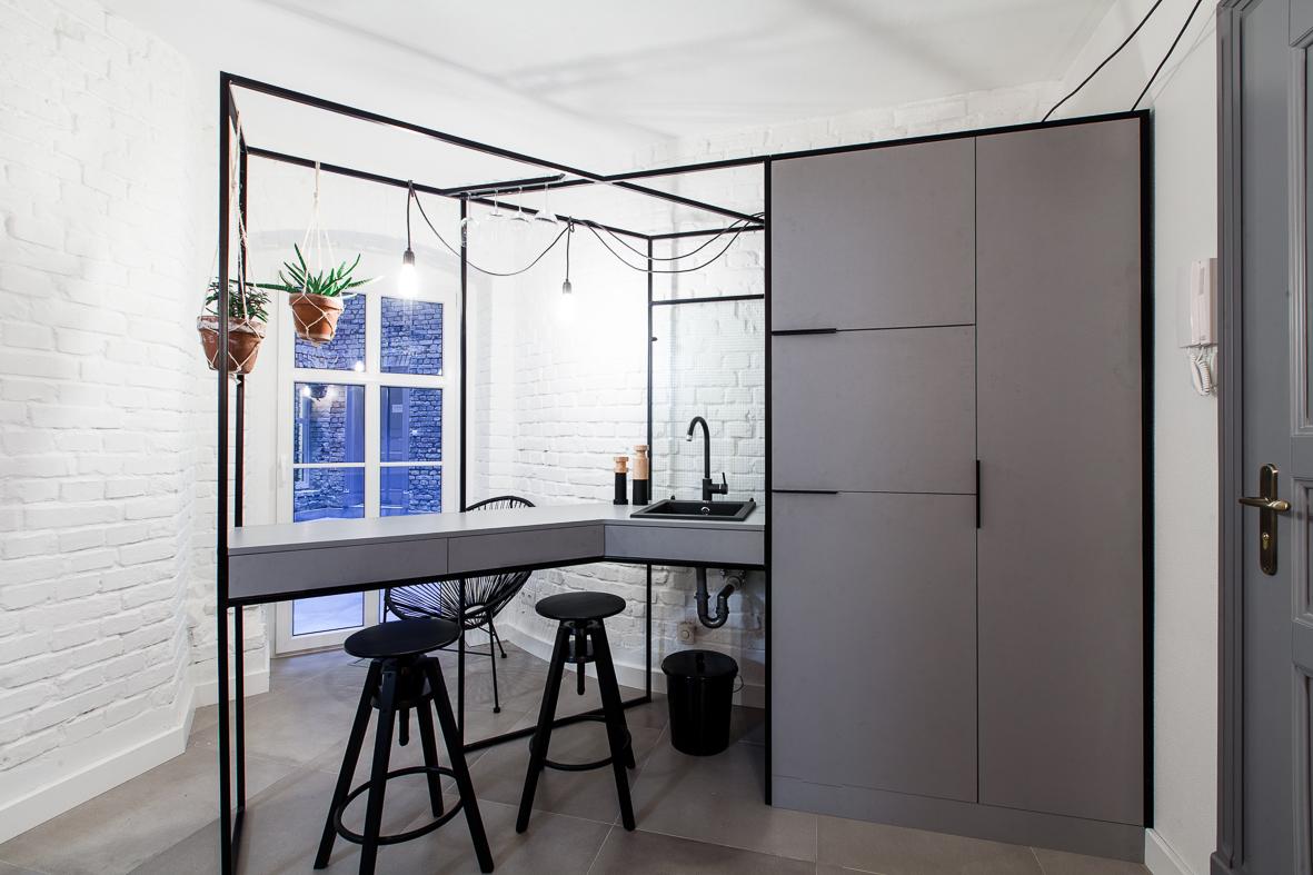 Małe przestrzenie: kawalerki na poznańskim Łazarzu – 17 i 25 metrów