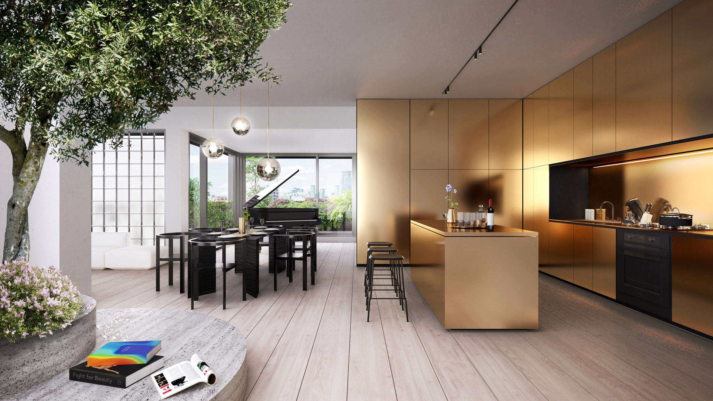 Bjarke Ingels Group penthouse king toronto