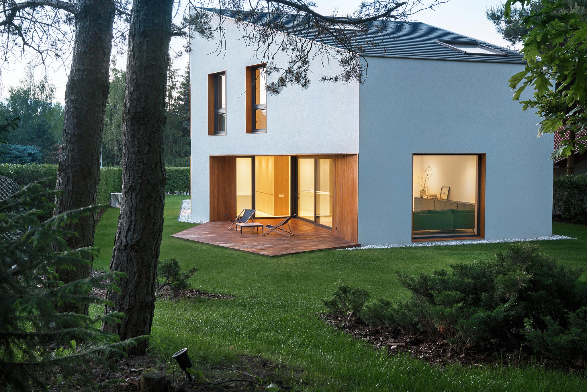 Najlepsze domy w Polsce: nowoczesny Dom LUS_3
